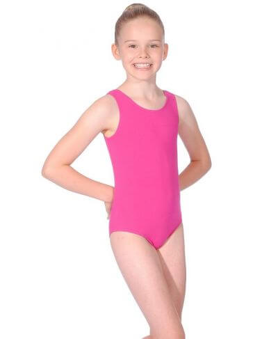 BBO Tap Grade 1 to 3 Cotton Sleeveless Leotard Roch Valley