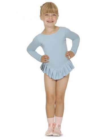 Roch Valley CF102 Cotton Long Sleeved Frilled Leotard