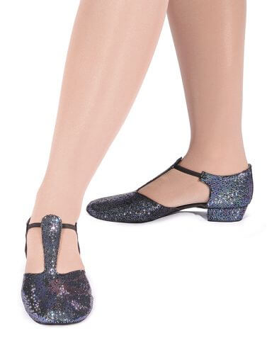 Roch Valley HGS Black Hologram Greek Sandals Teaching Shoes