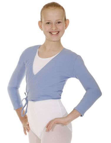 Roch Valley NIKKI Cotton Crossover Ballet Cardigan