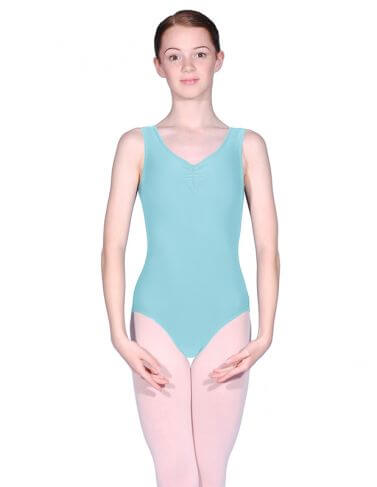 Roch Valley RV2382 Sleeveless Ruched Leotard
