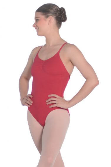 Roch Valley Nancy Cotton Sleeveless Dance Leotard