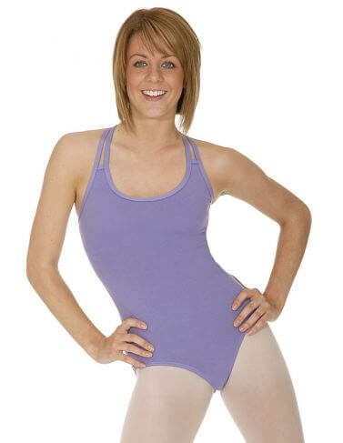 Roch Valley Sophie Cotton Sleeveless Leotard Double Straps