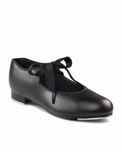 Capezio 925 Junior Tyette Tap Shoes Black