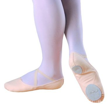 Capezio Canvas Split Sole Ballet Shoes Juliet