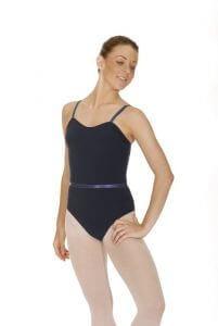 Roch Valley CMAJOR Cotton Camisole Leotard With Belt