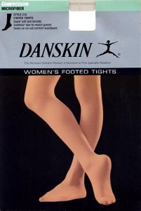 Danskin 212 Matt Light Toast Dance Tights