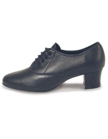 Roch Valley Classic Oxford Leather Cuban Heel Tap Shoes