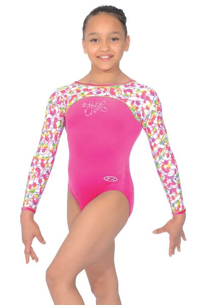 Tutti Frutti Long Sleeved Gymnastics Leotard - Z449TUT