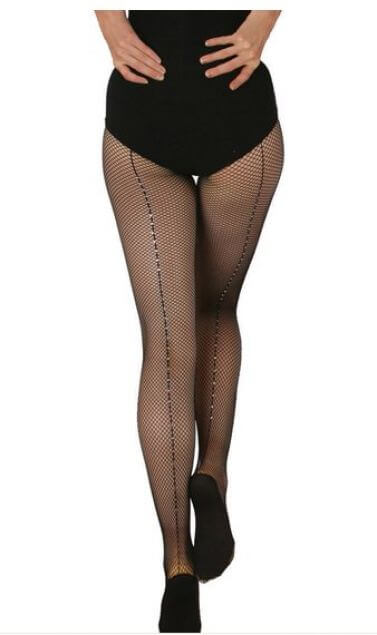 Capezio 3002 Pro Fishnet Tights With Rhinestones