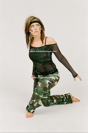 Combat Street Top and Jazz Pants