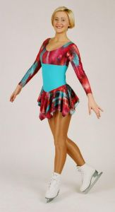 Nylon Lycra Ice Skate Dress