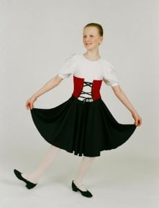 Alice Show Theatrical Dance Dress