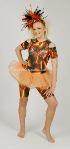 Disco Freestyle Ellis All In One Funky Tutu Set
