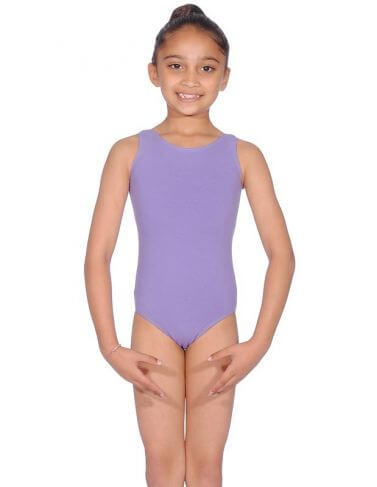 BBO Ballet Cotton Sleeveless Leotard Grade 1 to 3