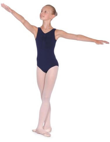 BBO Ballet Cotton Sleeveless Leotard Grade 4 to 5  Roch Valley