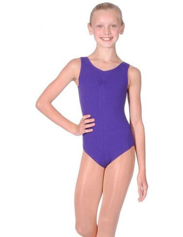 BBO Tap Grade 4 to 5 Cotton Sleeveless Leotard Roch Valley