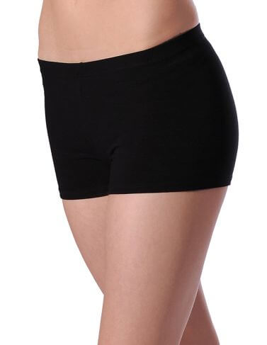 Cotton Hipster Dance Shorts