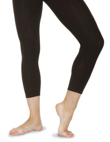Cotton Calf Dance Leggings