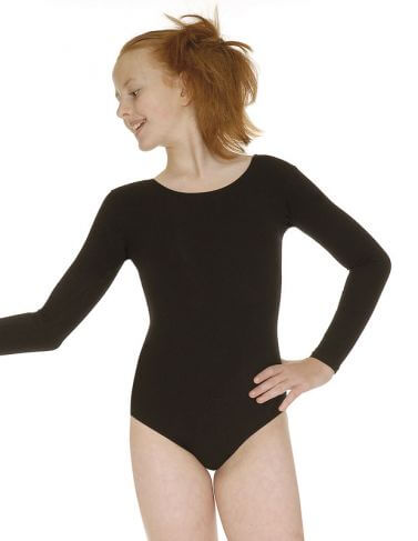Roch Valley Donna Long Sleeved Cotton Leotard