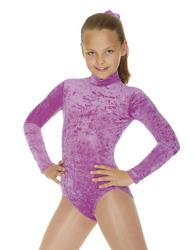 Roch Valley Jane Velour Long Sleeved Turtle Neck Leotard