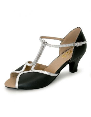 Roch Valley RV804 Wide Fit T-Bar Latin Ballroom Shoes