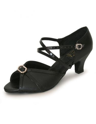 Roch Valley RV805 Wide Fit X-Strap Latin Ballroom Shoes