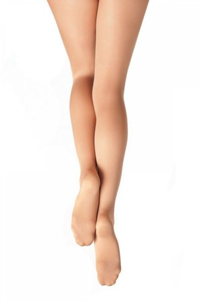 Capezio 1815 Ultra Soft Black Footed Tights