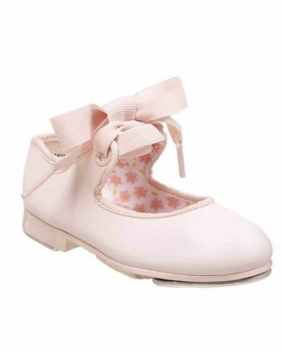 Capezio 625 Junior Tyette Tap Shoes in Pink