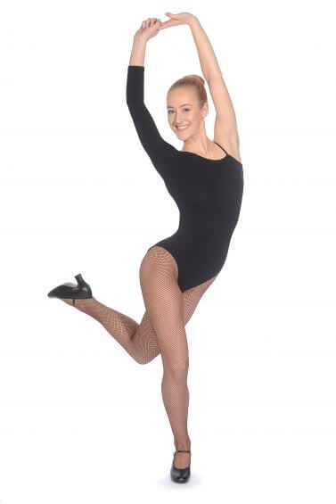 Black Cotton Leotard - Roch Valley CTBEY