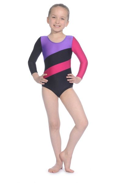 Roch Valley Hop Long Sleeved Gymnastics Leotard