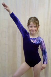 Kira Long Sleeve Gymnastics Leotard
