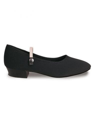 Canvas Low Heel Character Shoes - Roch Valley REGLHB