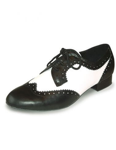 Roch Valley Ritz Mens and Boys Two Tone Ballroom Shoes