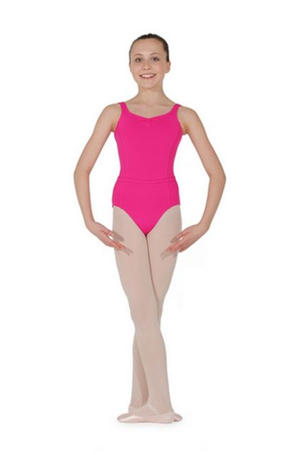 Microfibre Sleeveless Leotard