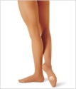 Capezio 1816 Transition Convertible Dance Tights Light Suntan