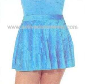 Roch Valley VCSS Velour Lycra Circular Short Skirt